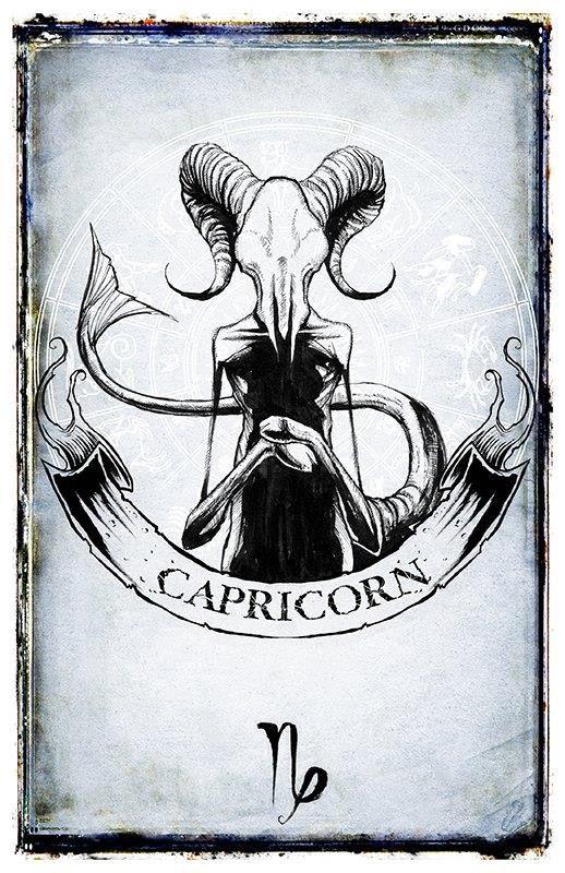 Capricornio Arte Capricornio Arte Del Zodiaco Signos Zodiacales Tatuajes