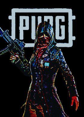 Pixels PUBG   Displate thumbnail
