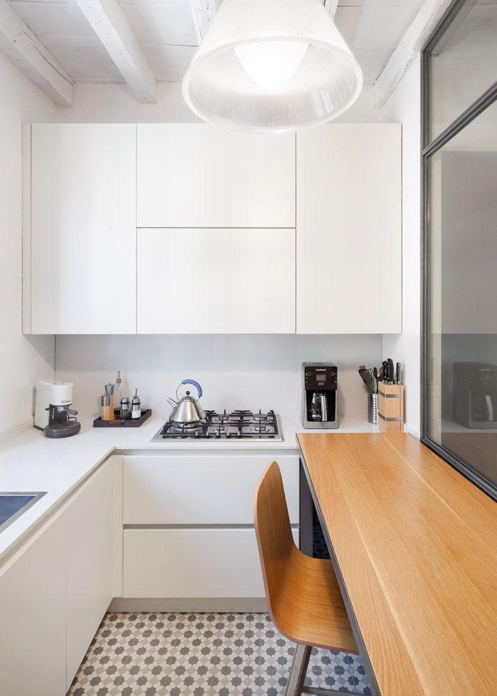 50 idee cucine piccole • Soluzioni per una cucina pratica e ...