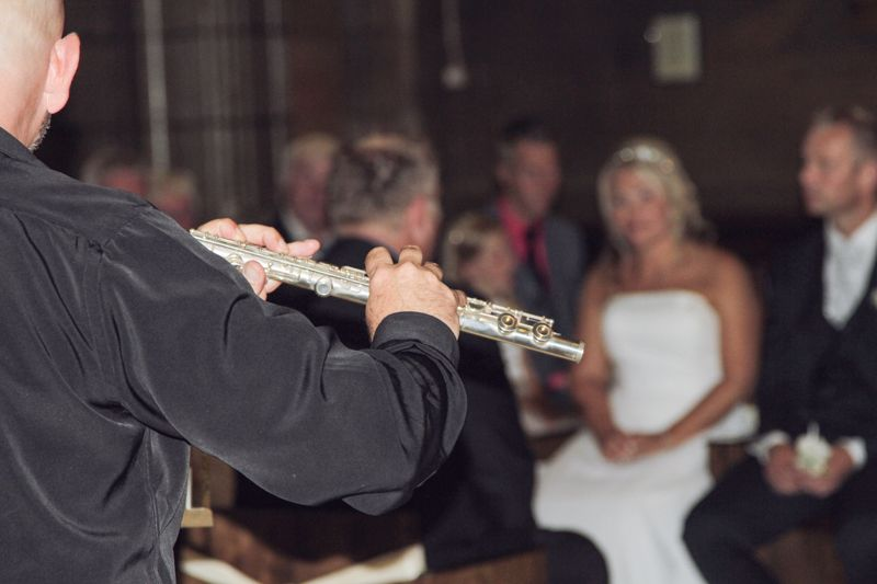 "Norwegian wedding in Barcelona (September 2014) ""Beautiful flute"""