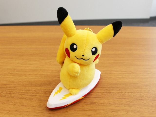 The Pokemon Center just released a line of Surfing Pokemon Plushies -