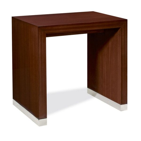 Limited Production Design U0026 Stock: Ralph Lauren Brook Street Mahogany Side  Table * Chairman Mahogany