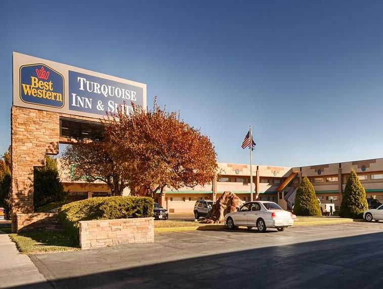 Cortez (CO) Best Western Turquoise Inn and Suites United States, North America The 2-star Best Western Turquoise Inn and Suites offers comfort and convenience whether you're on business or holiday in Cortez (CO). Offering a variety of facilities and services, the hotel provides all you need for a good night's sleep. Take advantage of the hotel's facilities for disabled guests, Wi-Fi in public areas, car park, airport transfer, laundry service. Guestrooms are fitted with all th...