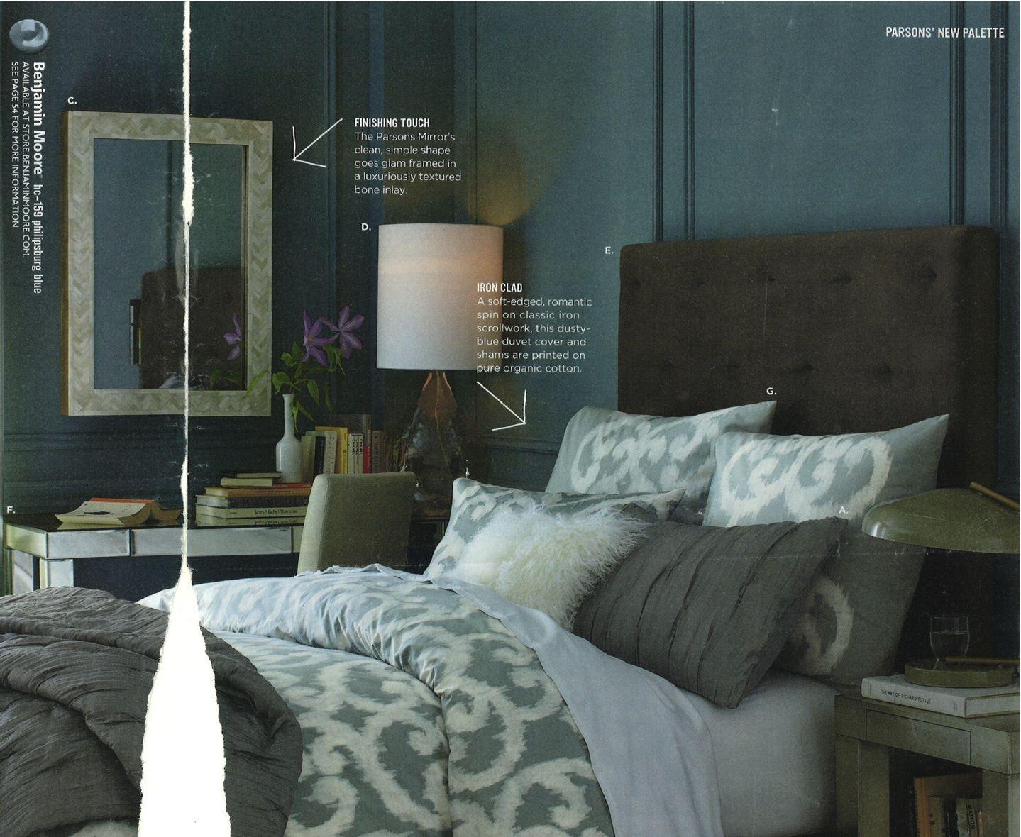 Benjamin Moore Hc 159 Philipsburg Blue My Master Bedroom Color