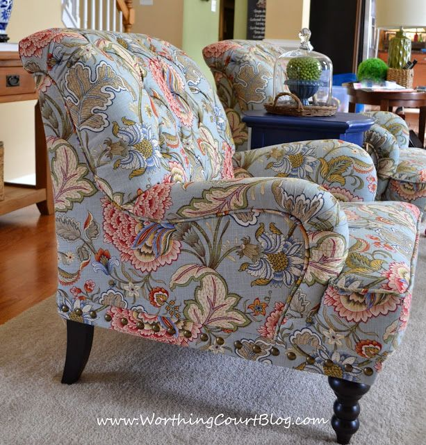 Nice Changing The Family Room Decor Starting With New Chairs From Pier 1 ::  WorthingCourtBlog.