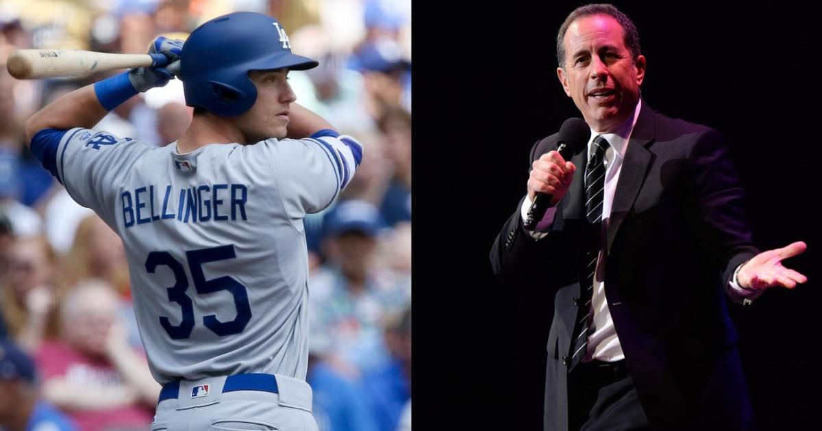 L A Dodgers Rookie Phenom Says He S Unfamiliar With Jerry Seinfeld Seinfeld Jerry Seinfeld Dodgers