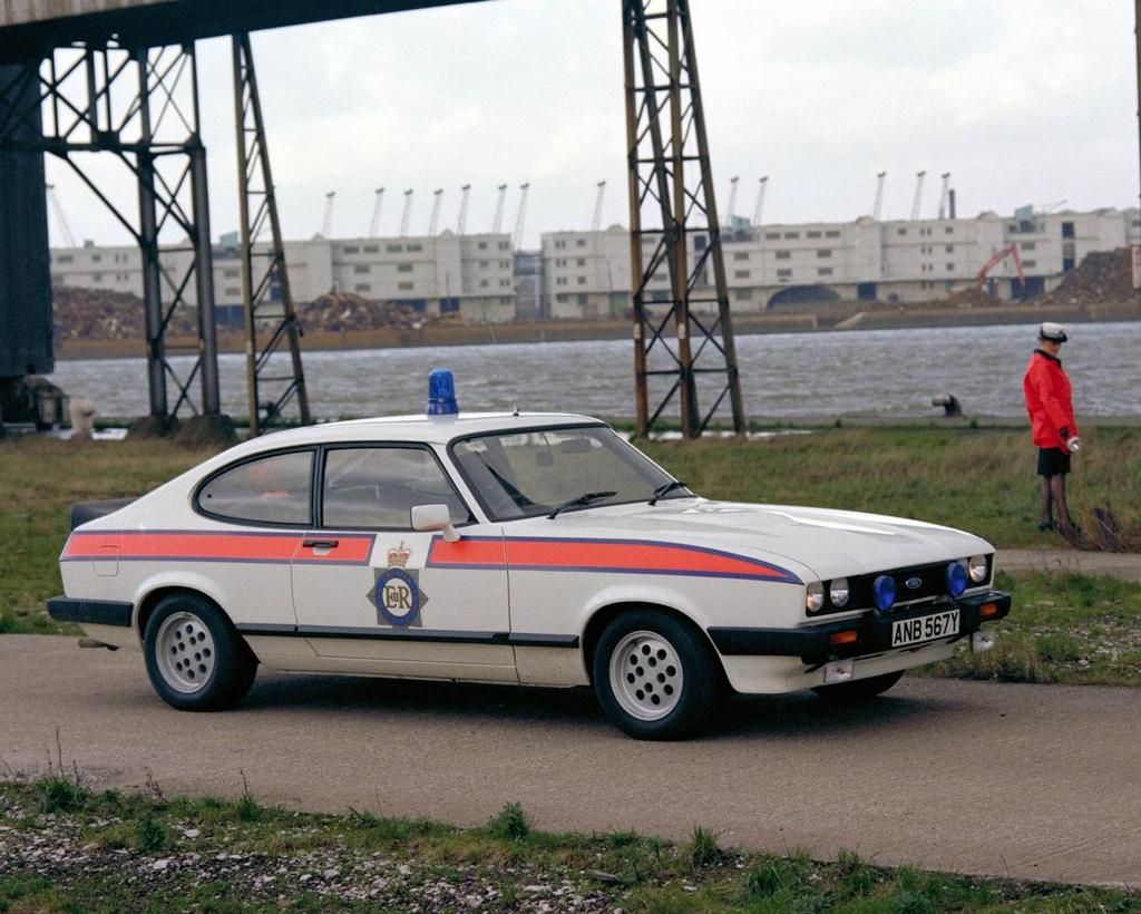 1983 Ford 2.8i Capri Police Car