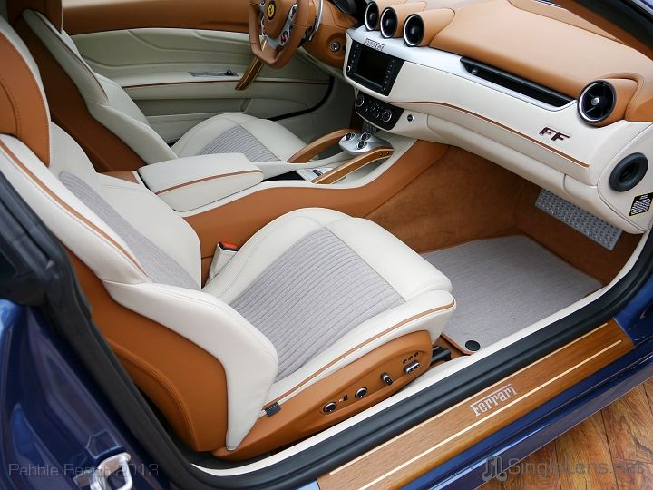 Ferrari Ff Interior White And Brown Wood Interior Luxury Car Interior Custom Car Interior Car Interior Upholstery