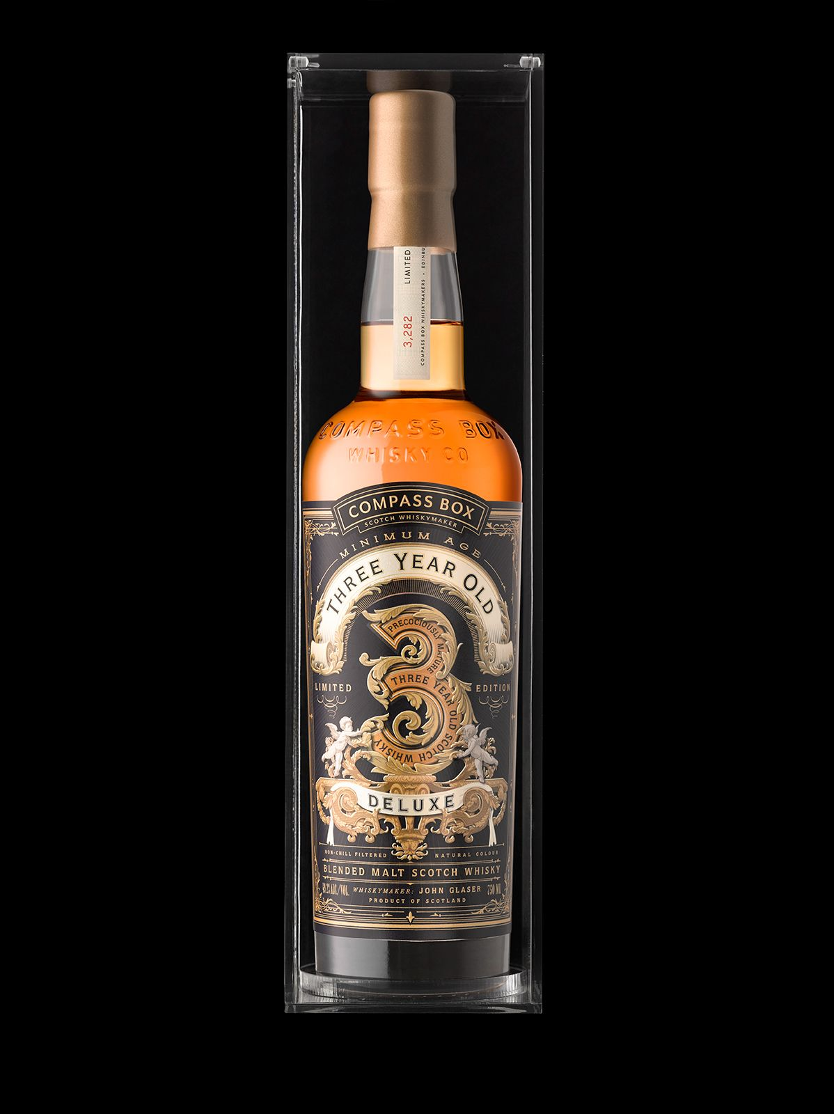 Compass Box 3 Year Old On Behance