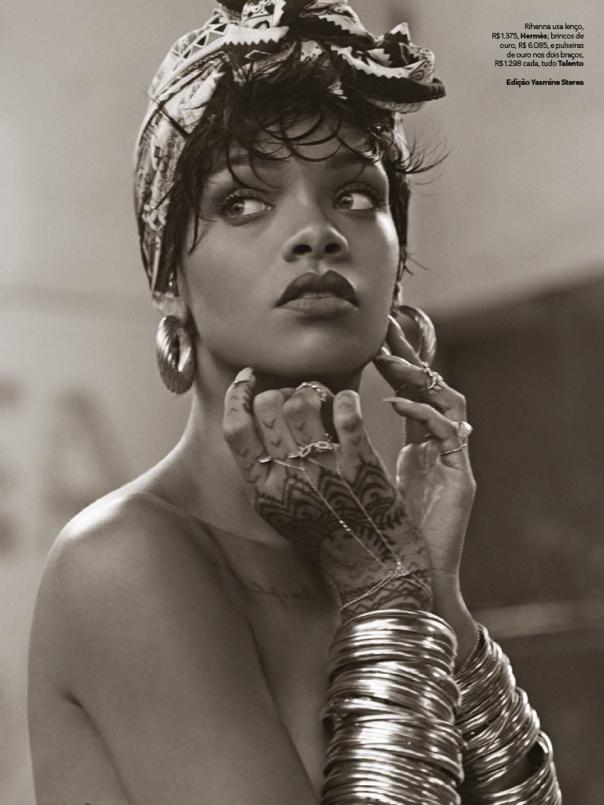 Rihanna by Mariano Vivanco for Vogue Brazil May 2014