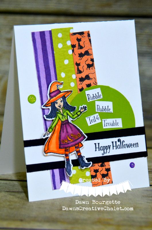 cauldron bubble stampin up i just love our halloween selections in the 2018 holiday catalog dawnscreativechalet stampinupdemonstrator cardmaking