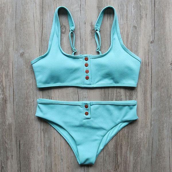 2d5f8a3cbd33a Gradient Mermaid Bikini in 2019   My Style ♥   Mermaid bikini, Mermaid  swimsuit, Seashell bikinis