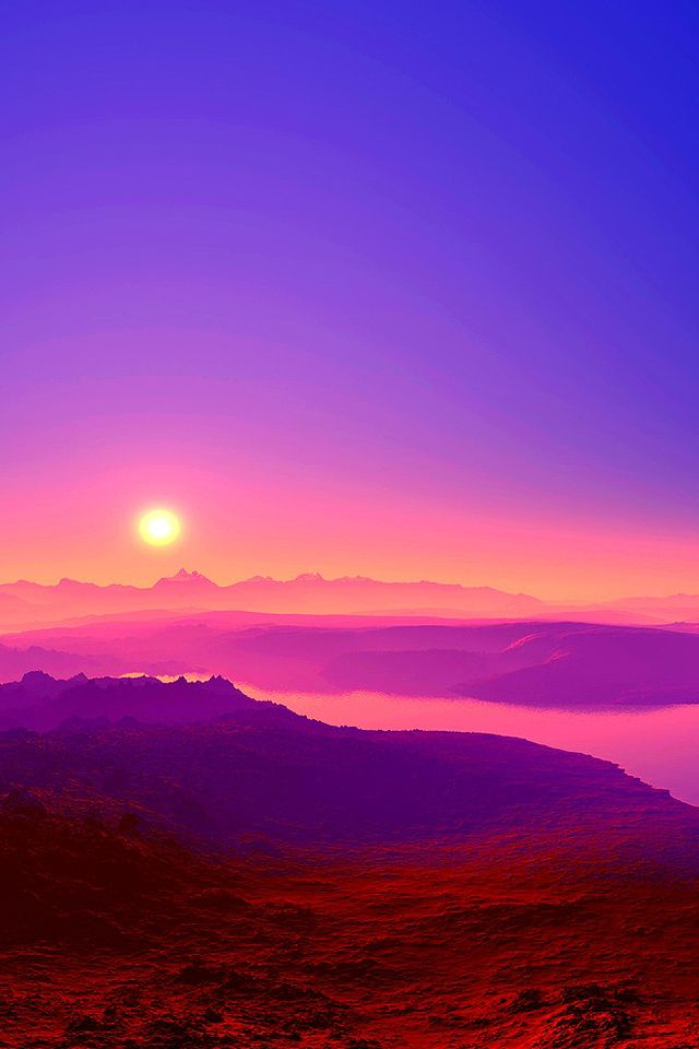 nature Lake Sunrise Mountain Wallpapers HD Desktop and Mobile