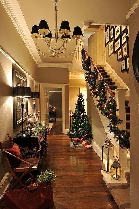Georgian style hall cream stairs high ceilings | Decor | Pinterest ...