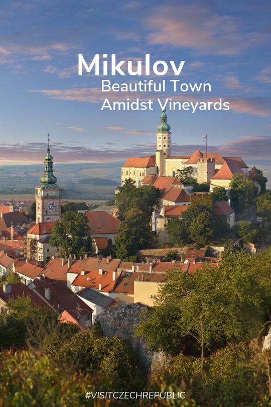 Czech Republic Mikulov Moravia Scenic Tourism