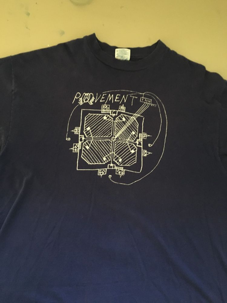 243be842 Pavement band t-shirt vintage 90s indie emo size XL blue pre-owned #fashion  #clothing #shoes #accessories #mensclothing #shirts (ebay link)