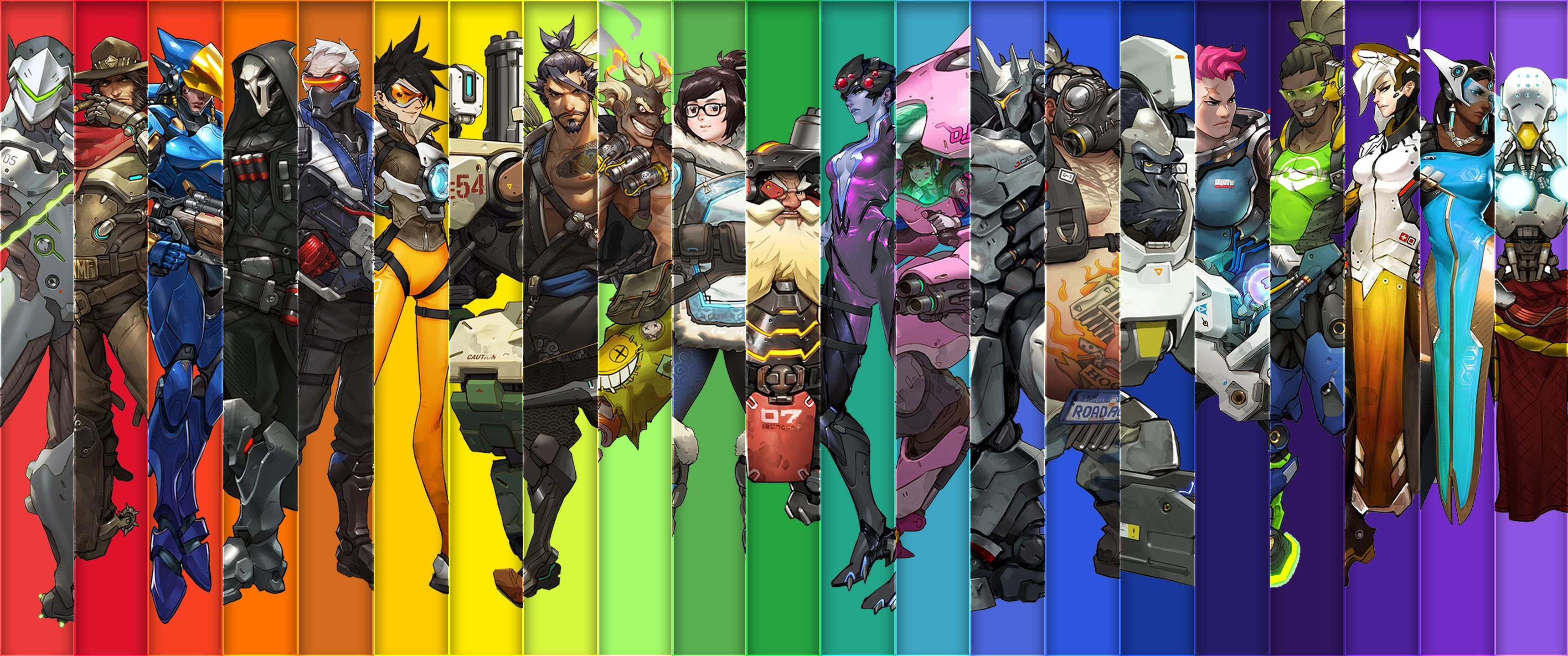 An Overwatch Background I've been using  [3440x1440] | 饿 in