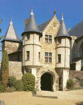 Castle Angers Anjou France Castle House Angers Beautiful Castles