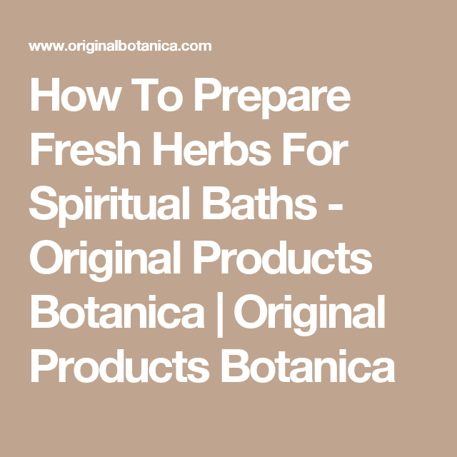 How To Prepare Fresh Herbs For Spiritual Baths | Ghana | Spiritual