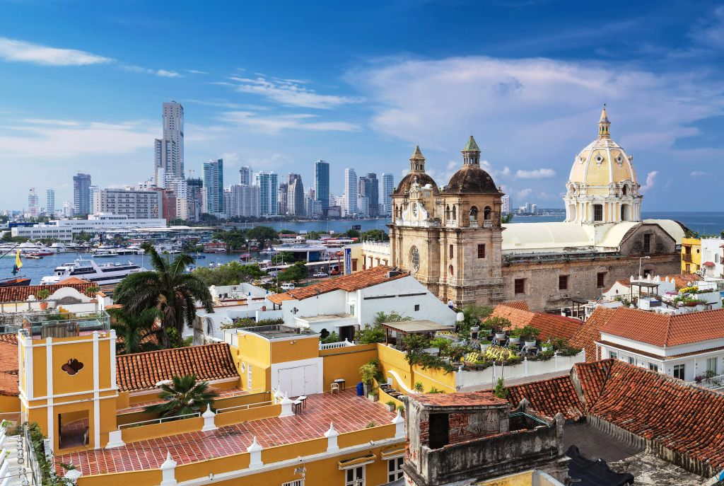 Cartagena De Indias Colombia Puzzle In Puzzle Of The Day Jigsaw