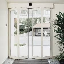 Automatic folding doors are basically used in office. Usually these doors are used on & Automatic folding doors are basically used in office. Usually ...