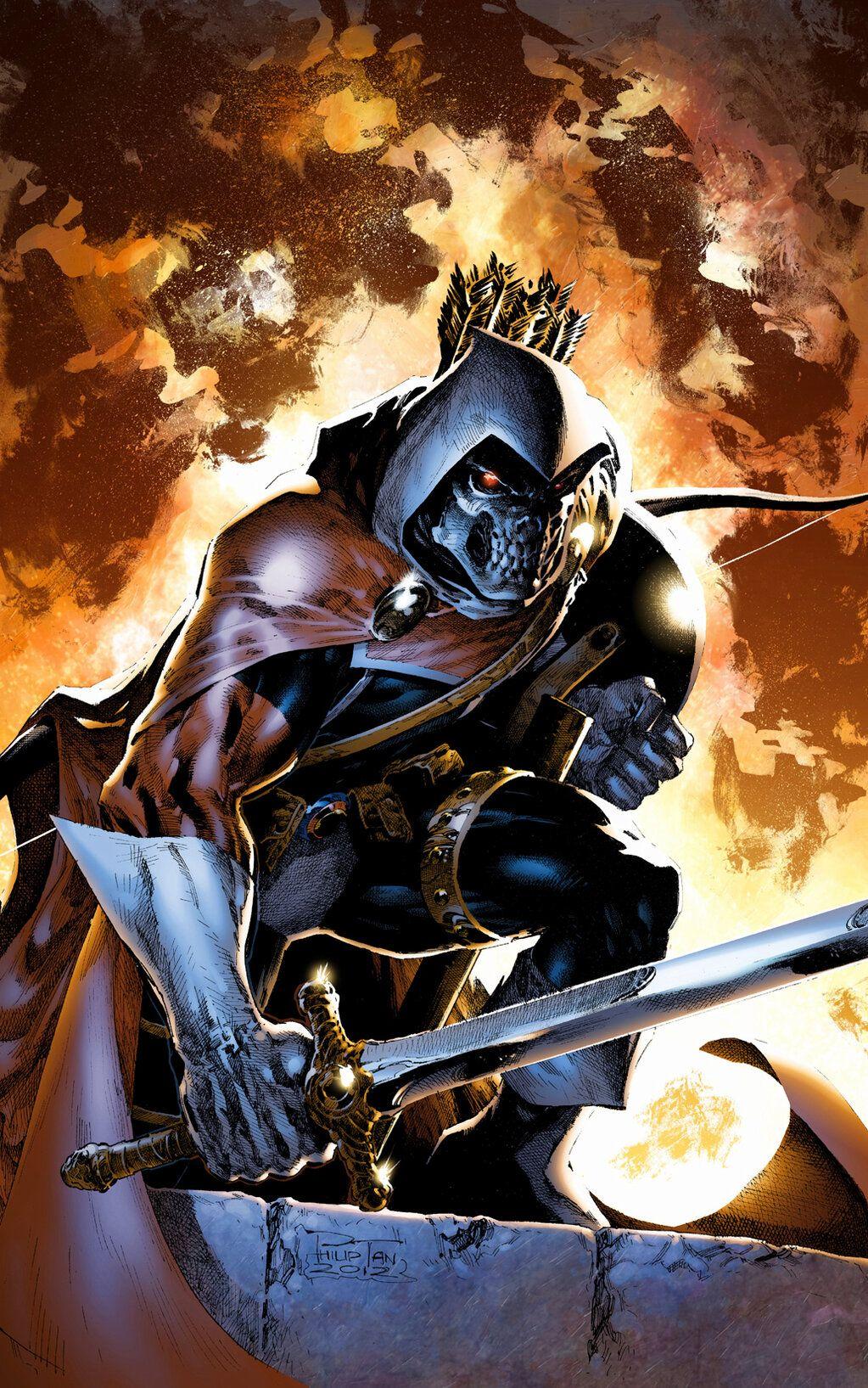 Taskmaster - Philip Tan   Marvel comic character, Marvel villains, Comic villains