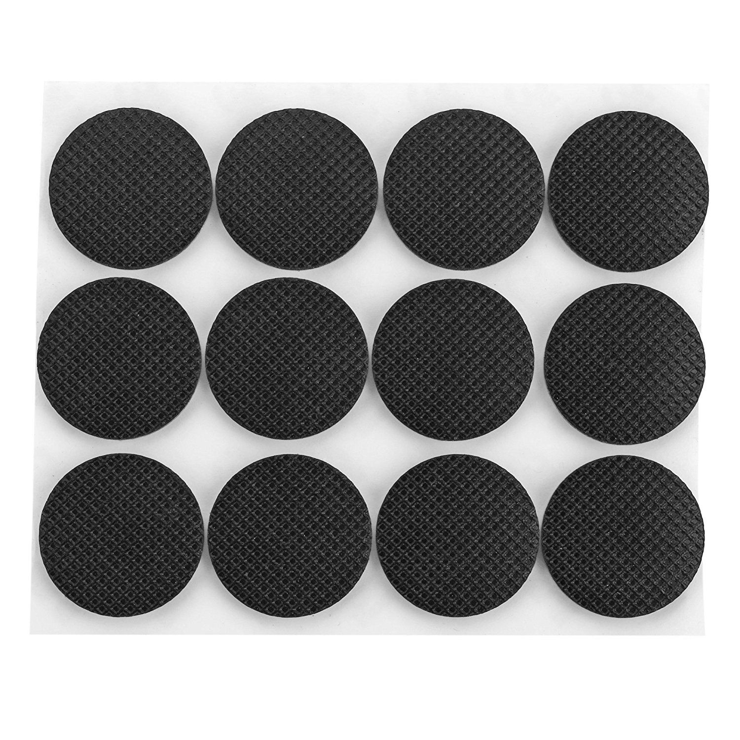 Vonoto 120pcs Self Stick Rubber Anti Skid Pad Value Pack Furniture And Floor Protectors Circular Dia Furniture Legs Furniture Floor Protectors Furniture Pads