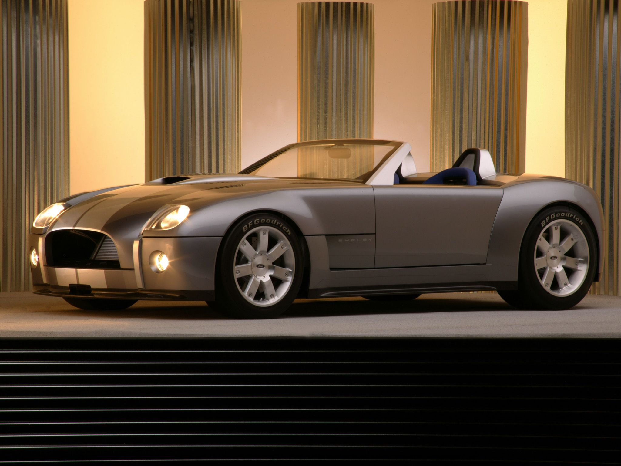 V10 Powered Ford Shelby Cobra Concept Up For Bidding In November