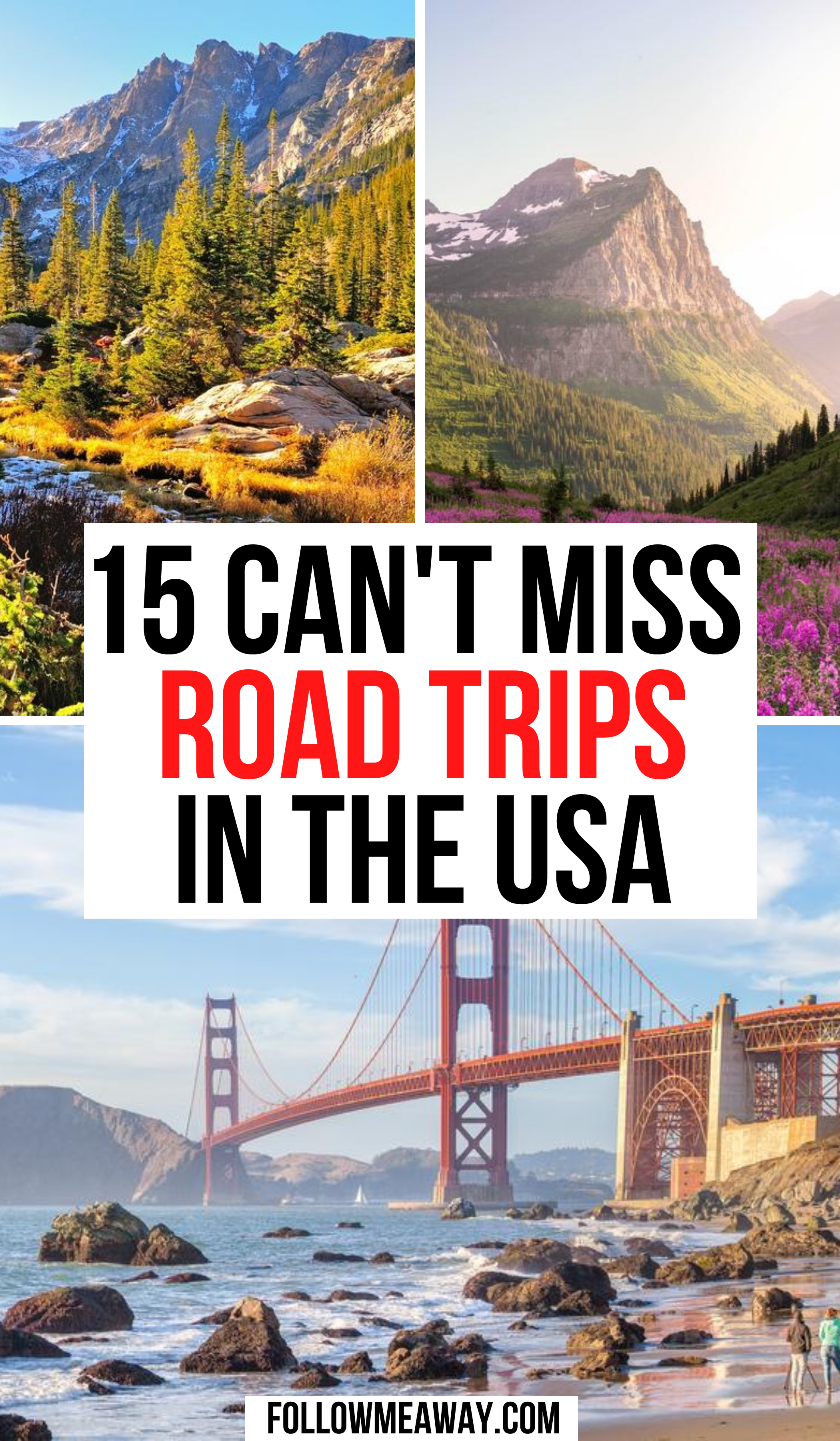15 Best Road Trips In The Usa For Your Bucket List Road Trip Fun Road Trip West Coast Road Trip