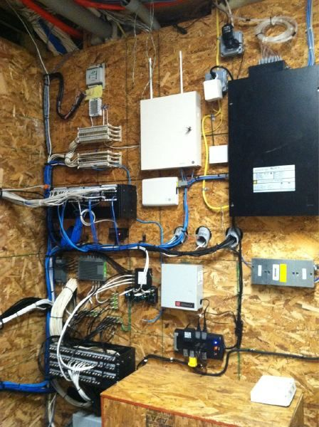 Structured Wire Layout Structured Wiring House Wiring Home