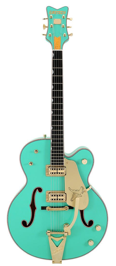 Gretsch Masterbuilt 1959 Foam Green Falcon Custom Shop
