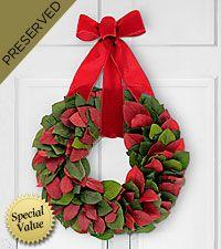 Joy to the World Everlasting Holiday Wreath