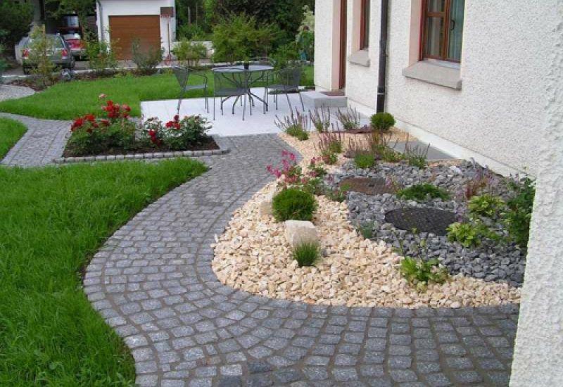 Vorgartengestaltung Mit Kies 15 Vorgarten Ideen Vorgarten ...
