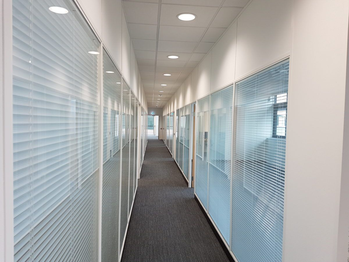 Suspended Ceilings Office Partitions Mezzanine Floors In