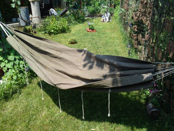 vintage military hammock waxed canvas camp hammock canvas army hammock soviet green portable hammock camping gear vintage military hammock waxed canvas camp hammock canvas army      rh   pinterest