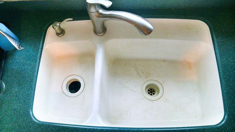 How To Repair Or Restore A Solid Surface Sink Sink Repair Sink