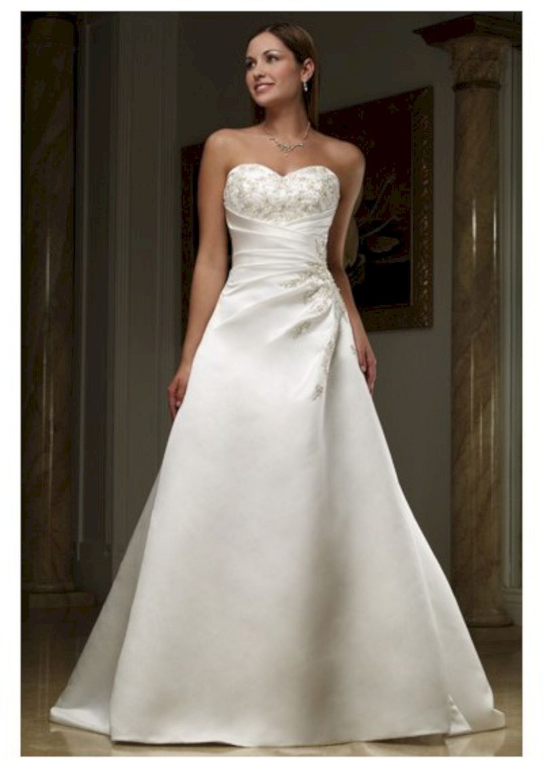 30 Sweetheart Neckline Wedding Gown For Bride Looks More