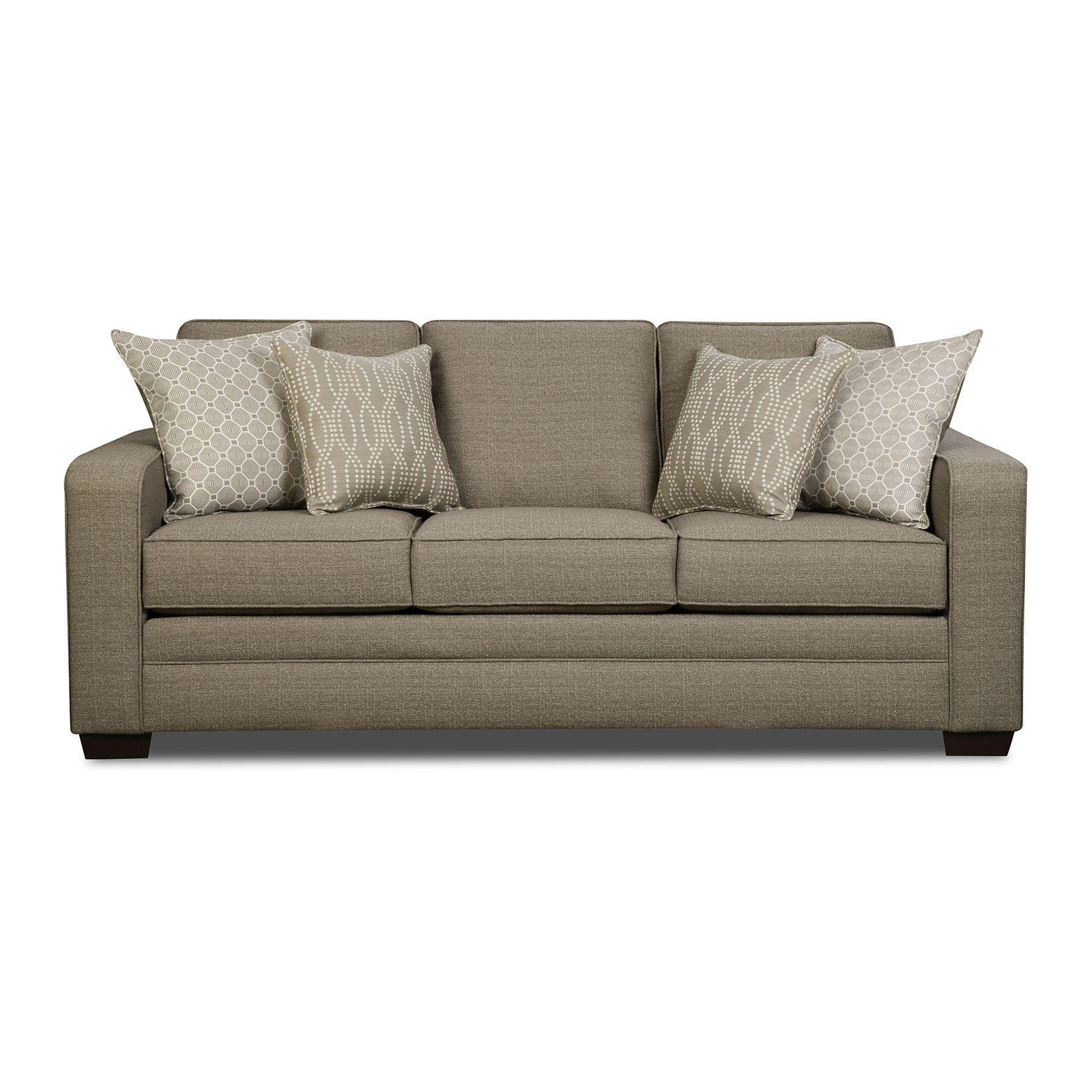 Beige Queen Sleeper Sofa Baci Living Room