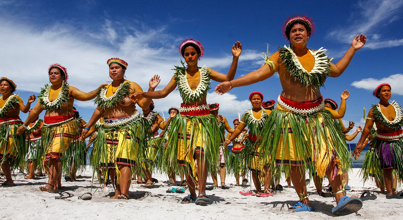 Palau - National dance Folk Dance | National Dance - All ... |Traditional Clothing Palau
