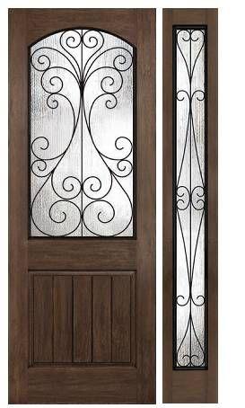 Plastpro S Rustic Series Door Camelia W Wrought Iron