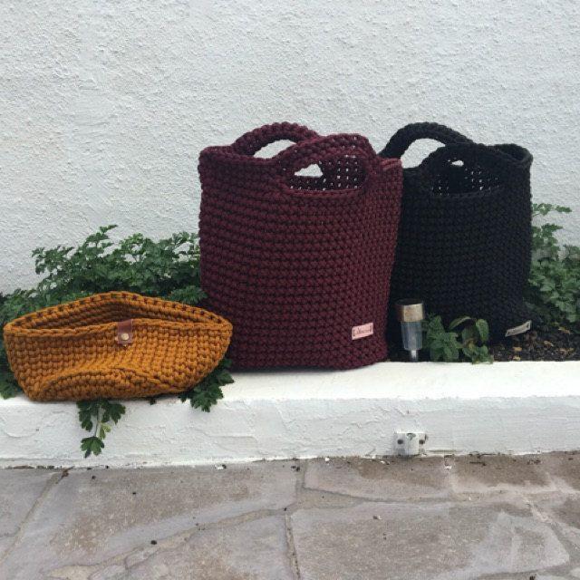 Photo of Borsa a mano, borsa di corda fatta a mano, borsa a maglia, borsa estiva, grande shopper, borsa navy, borsa all'uncinetto, borsa per pannolini, regalo per lei