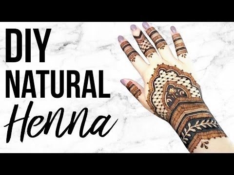 Diy Henna Easy Natural Recipe Henna Tattoo Diy Henna Tattoo Recipe Diy Henna