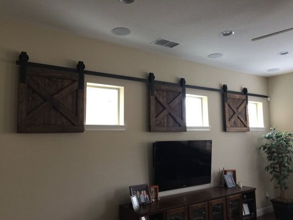 Photo of RUSTIC Wood Window Shutters Baby Pet Dog GATE Barn Door Photography Backdrop Store Display Sign Shutter Primitive 30″ x 30″ Lot Of THREE