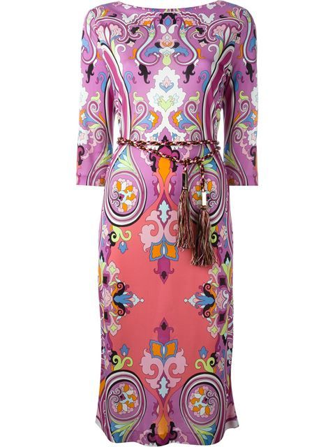 ETRO Paisley Print Dress. #etro #cloth #dress