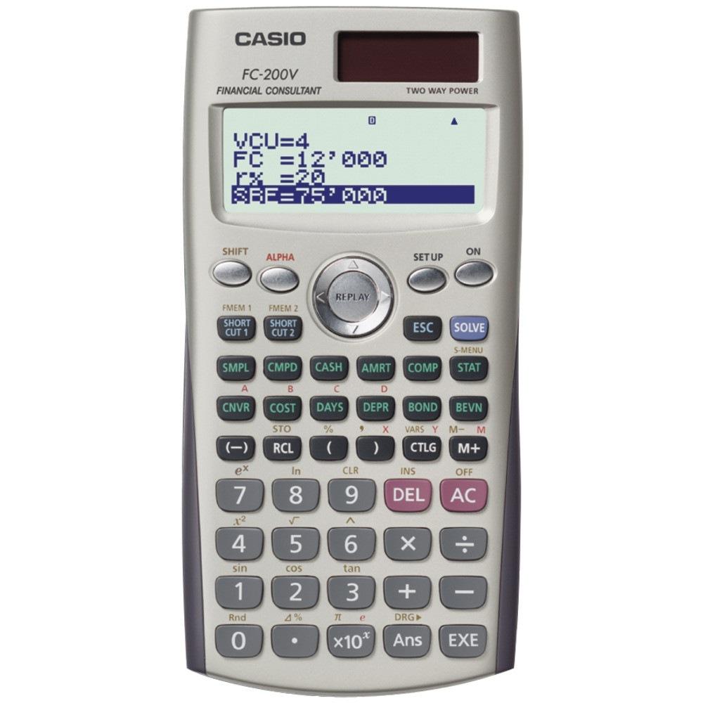 casio fc 200v financial calculator casio fc 200v financial