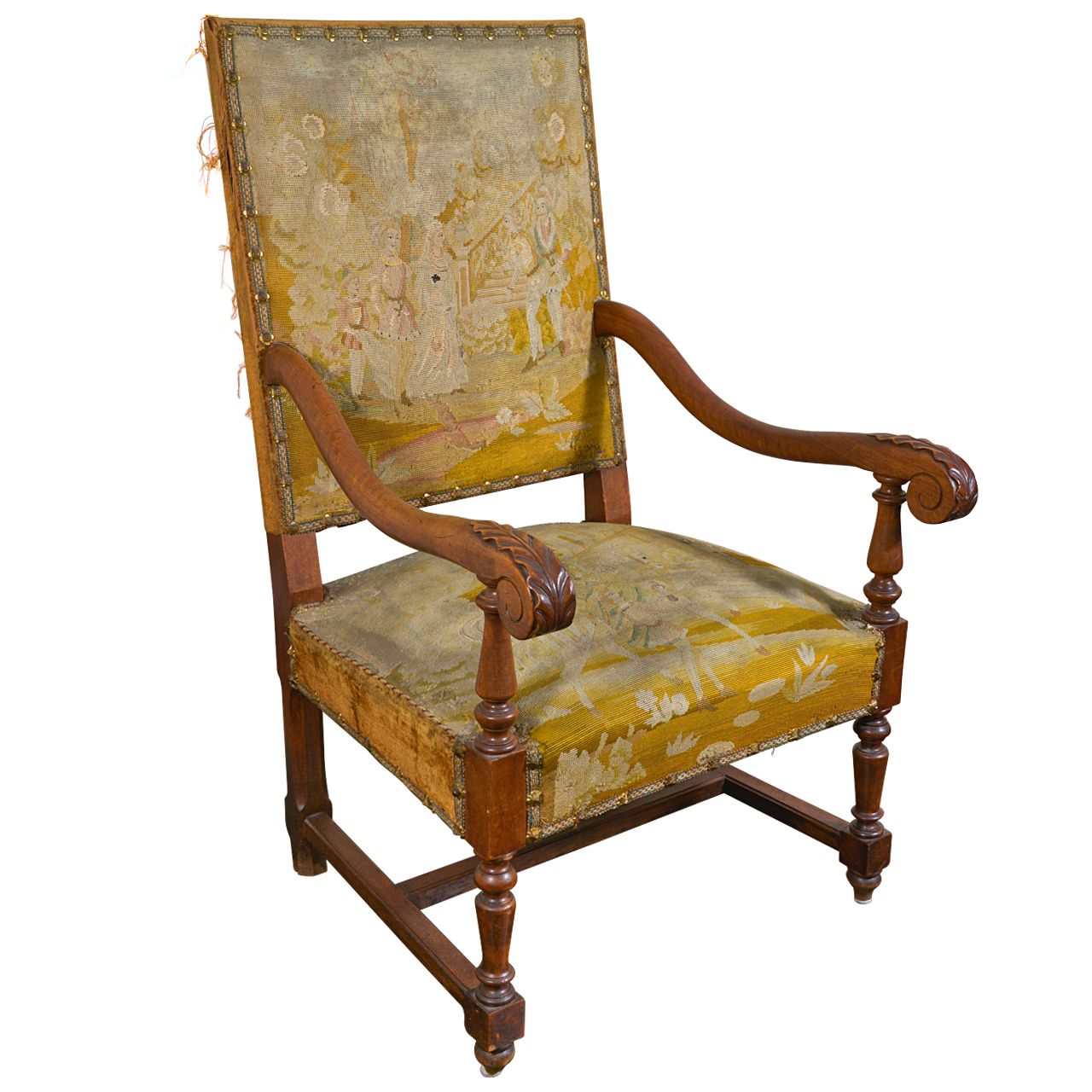 Fauteuils Louis 13 Newly Listed 1stdibs Antquie Louis Xiii Tapestry Fauteuil