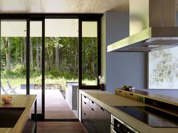 Villa-moderne Einbauküche | Casas en contenedor | Pinterest ...