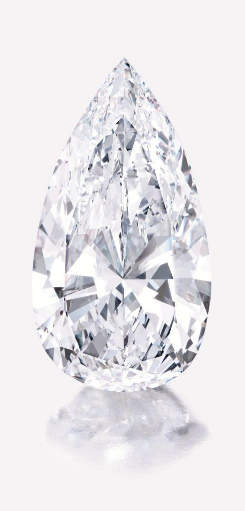 75 ct. pear-shaped diamond