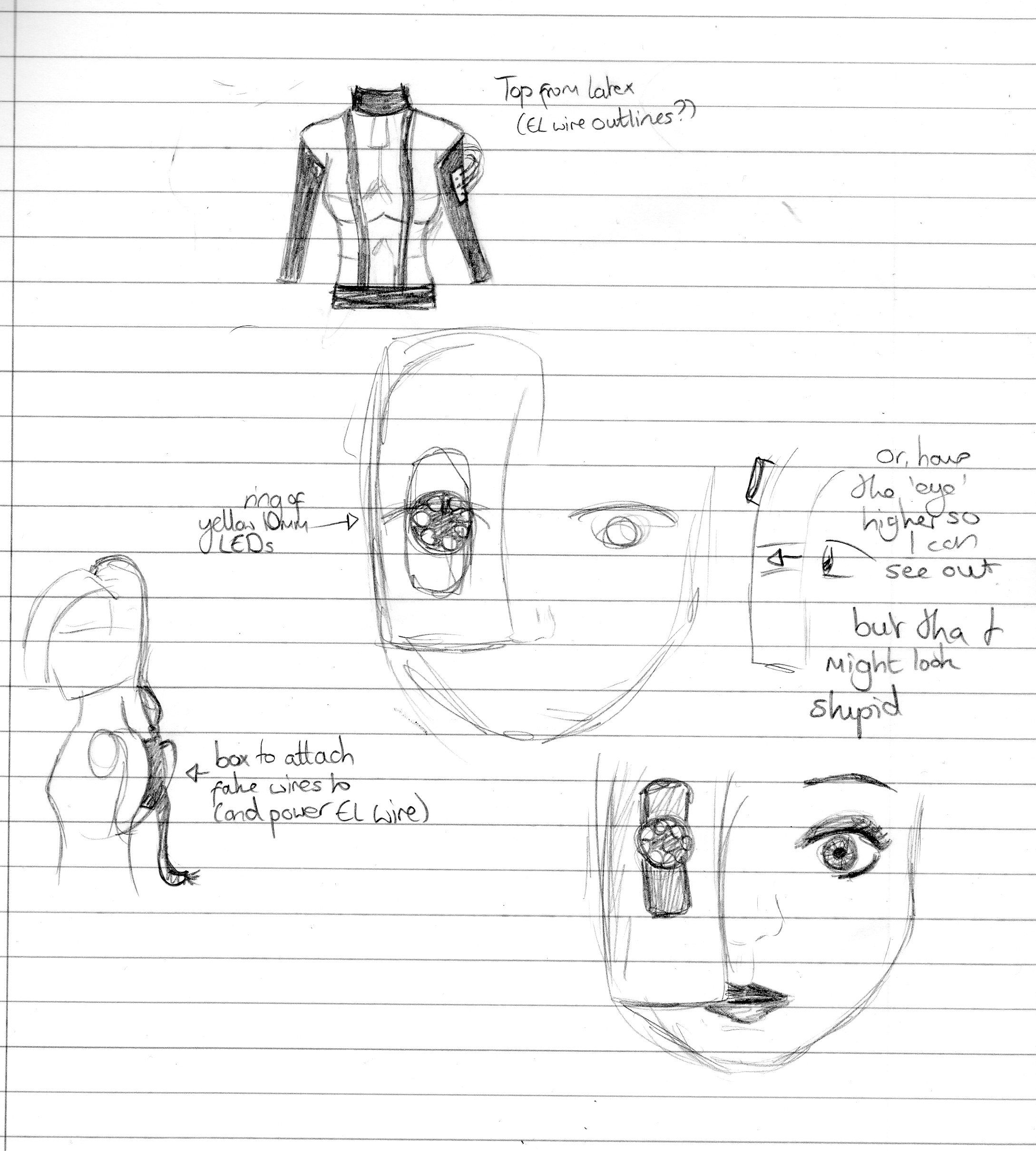 Sketch dump #4 | cosplay portal 1 et 2 | Pinterest | Cosplay