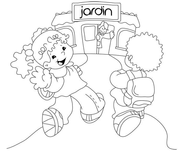 Mi Maestra 700 581 Arte Preescolar Dia De Los Jardines Dibujos